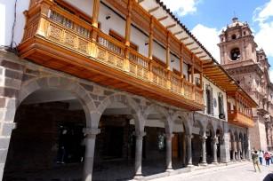 Les balconnets en bois